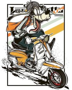 45 Ideas For Motorcycle Logo Cartoon Character Art, Character Design, Bike Sketch, Motorcycle Logo, Lambretta Scooter, Doodle Designs, Retro Cars, Mellow Yellow, Comic Covers