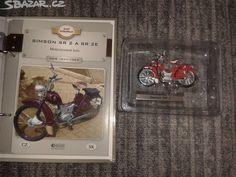 Model motocyklu SIMSON SR 2 A SR2E - obrázek číslo 1