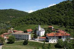 Манастир Св. Прохор Пчињски на планини Козјак.