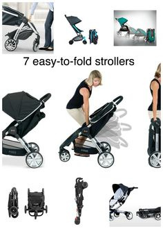Great list of tried and tested strollers that have a full-proof one-hand fold. via #BabyCenter