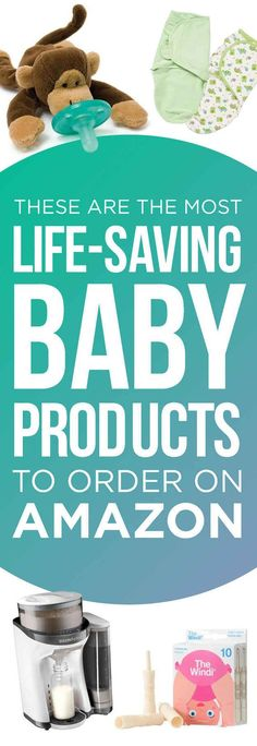 24 Of The Most Life-Saving Baby Products To Order On Amazon Remember correctly when I have a little one or for all of those baby showers I keep getting invited to!