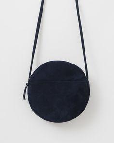 Circle Purse - Midnight Suede. BAGGU. Parisian Style ... 62cb0c0dbd185