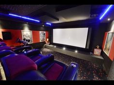 Dolby Atmos, 4D Sitze, 4K Projektor, curved Screen - dieses Kundenkino hat einfach alles !! - YouTube