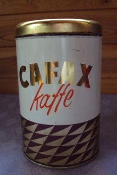 Cafax Kaffedåse Drink Sleeves, Shot Glass, Drinking, Coffee, Retro, Tableware, Kitchen, Vintage, Kaffee