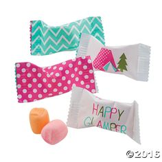 Camp Glam Sweet Creams are the perfect party favor for your little adventurer! Scatter these party supplies on the table as birthday party decorations or ...