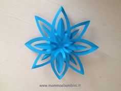 How to make simple & easy paper star Diy Snowflake Decorations, Paper Christmas Decorations, Christmas Art, Christmas Ornaments, How To Make Snowflakes, Paper Snowflakes, Paper Stars, Quilled Paper Art, Paper Crafts Origami