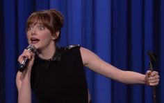 super fun watch: Emma Stone/Jimmy Fallon Lip-Synch