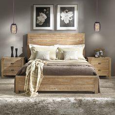 Grain Wood Furniture Montauk Panel Bed