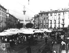 Mercato, forse Verziere #milano #fotografia #storia
