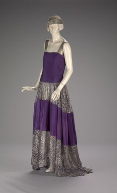 Evening Dress  Jeanne Lanvin, 1922  The Indianapolis Museum of Art