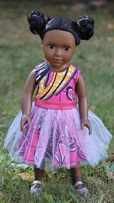 # Braids bun african american Dark Brown Skin Tone Doll with Braided Buns Brown Skin, Dark Brown, African American Dolls, African Dolls, African Braids, American Girl, Cute Baby Dolls, Dark Skin Beauty, Different Hairstyles
