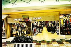 Merry Go Round Enterprise - 1980's and '90's clothing store for men and women. Those of us who were teens in the '80's and up to the mid '90's shopped at the most popular store in any mall.