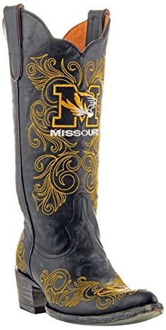 NCAA Missouri Tigers Women's 13-Inch Gameday Boots ** Tried it! Love it! Click the image. : Cowgirl boots