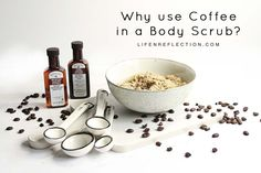 Exfoliate and nourish skin with an all natural, skin tightening hazelnut DIY coffee body scrub recipe. Give your skin a caffeine jolt that lasts! Coffee Cellulite Scrub, Coffee Face Scrub, Natural Skin Tightening, Skin Tightening Cream, Coconut Oil Body Scrub, Sugar Scrub For Face, Body Scrub Recipe, Skin Care Remedies, Weight Loss