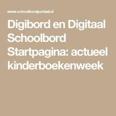 Digibord en Digitaal Schoolbord Startpagina: actueel kinderboekenweek