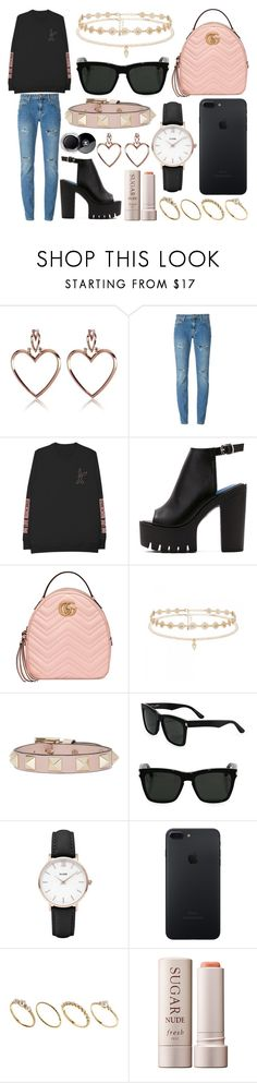 """353."" by plaraa on Polyvore featuring moda, Yves Saint Laurent, WithChic, Gucci, Forever New, Valentino, Topshop, ASOS, Fresh y Chanel"