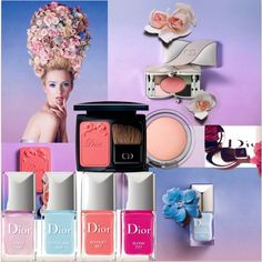 DIOR Trianon Spring 2014 Make Up Collection - Love this collection - Susan
