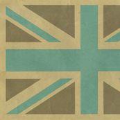 union jack fabric via Spoonflower