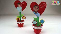 Une vidéo pour réaliser étape par étape cette jolie plante en pot de papier pour la fête des mères, un anniversaire ou la Saint Valentin. Si vous aimez ce tu...