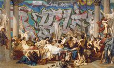 Le Street Art rencontre la  Peinture Classique (image)