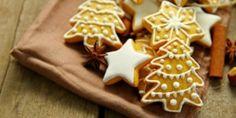 Γιορτινά μπισκοτάκια βουτύρου με μπαχαρικά και αμύγδαλα