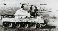 Panther Ausf D tanks assembling prior to the Battle of Kursk