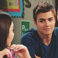 Peyton Meyer(Lucas) and Rowan Blanchard(Riley)- Girl Meets World...Rucas