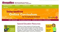 Online resource for mature students and educators f students with learning differences.