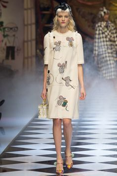 f559ca3f39 Dolce   Gabbana Happily Ever After Disney Fairy Tale Fall 2016 Collection   Nutcrackers