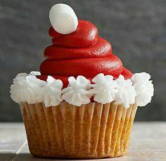 #christmas #cupcake #santa