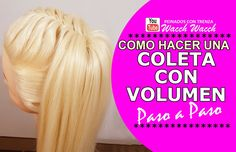 Peinados Faciles con Coletas y Trenzas -  MODERNO, BONITOS y CON VOLUMEN!!