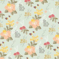 flower garden wrapping paper - bec nolan x love mae