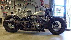 hellkustom: More pics here: http://www.hellkustom.com/2015/05/harley-davidson-softail-evo-1992-by.html Harley