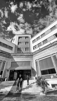 Grand Hotel Terme in Castrocaro, Italy. Designed by Tito Chini and completed in Grand Hotel, Atrium, Street View, Italy, Tours, Design, Blog, Italia, Blogging