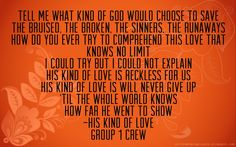 His Kind of Love by Group 1 Crew