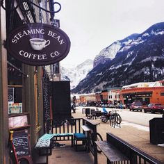 whiskey and coffee , telluride colorado #ELLEMERswimwear