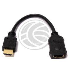 Cable HDMI de tipo HDMI-A macho a HDMI-A hembra de 20cm  www.cablematic.es/producto/Cable-HDMI-de-tipo-HDMI_hyphen_A-macho-a-HDMI_hyphen_A-hembra-de-20cm/