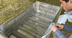 Comment fabriquer un potager surélevé   Plan Potager, Tray, Wood, Table, Place, Home Decor, New York, Recherche Google, Gardening