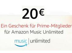 """Gratis: 20 Euro Guthaben für Amazon Music Unlimited (nur für Prime-Kunden) https://www.discountfan.de/artikel/c_gratis-angebot/gratis-20-euro-guthaben-fuer-amazon-music-unlimited-nur-fuer-prime-kunden.php Prime-Kunden aufgepasst: Wenige Wochen nach dem Start von """"Amazon Music Unlimited"""" gibt es jetzt ein Guthaben von 20 Euro geschenkt – Discountfans können so den Dienst drei Monate gratis und ohne Risiko testen. Gratis: 20 Euro Guthaben für Amazon Musi"""