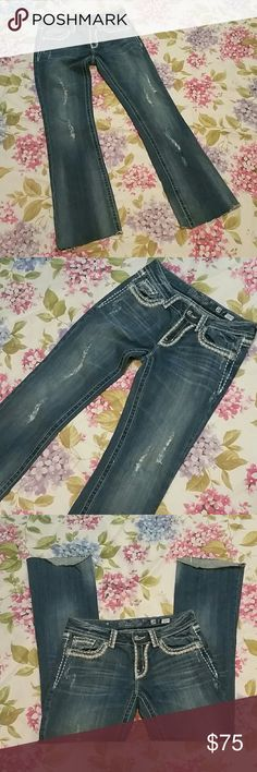 Miss me jeans 28 P19. Good condition. Missing one sparkly gem in the corner of a left pocket in the back. I do have the gem. JP5014U-11X BOOT Miss Me Jeans Boot Cut