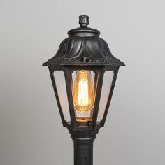 Zewnętrzna lampa słup Anna 110 czarna