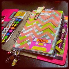 A Crafty Island Girl: Filofax: Staying Organized in 2014
