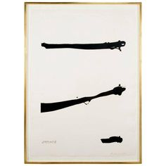 """A silkscreen by Robert Motherwell """"Tallith"""" from the """"For Meyer Schapiro Portfolio"""". Signed, dated, and numbered 1973, 51/100.   45.3 H x 33 W"""
