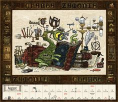 Zamonien - Moerschandise   Walter Moers Cute Monsters, Fan Art, Book Characters, Painting Inspiration, Book Art, Doodles, Bullet Journal, Tutorials, Earth