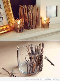 Rustic Home Decor Ideas You Can Build Yourself diy twig candle holder! 40 Rustic Home Decor Ideas You Can Build Yourselfdiy twig candle holder! 40 Rustic Home Decor Ideas You Can Build Yourself Rama Seca, Diy Casa, Creation Deco, Ideias Diy, Diy And Crafts, Teen Crafts, Summer Crafts, Adult Crafts, Easy Crafts To Sell