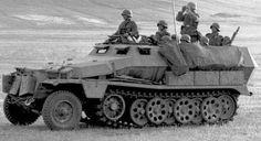 SdKfz 251 Hanomag Halftrack