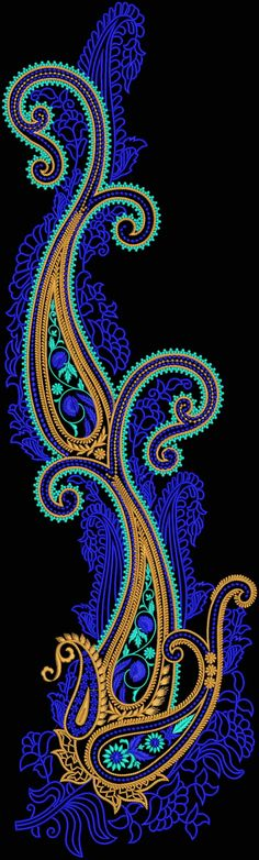 Latest Embroidery Designs For Sale, If U Want Embroidery Designs Plz Contact (Khalid Mahmood, +92-300-9406667)  www.embroiderydesignss.blogspot.com  Design# Bagusha18