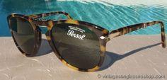 Amazing Persol 714 folding sunglasses