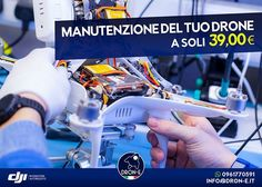Scrivici su info@dron-e.it o contattaci al numero 0961770591 Visit our Site: https://www.areagoods.com