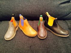 Life is all about choices. DE VRIES NR.7 Chelsea boot www.DEVRIES1972.com